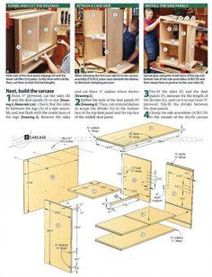 #1984 Mission Hutch Plans - Furniture Plans