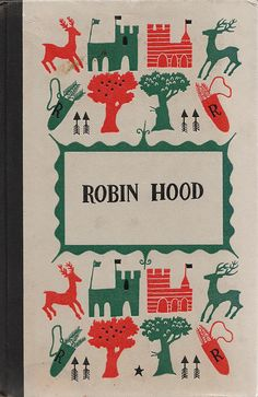 My mom had a copy of this on our shelf. I'm not sure I'd read the actual book on this one.  Like the cover, tho. :: Robin Hood ::
