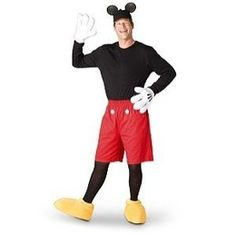 Disney Store Mickey Mouse Costume for Adults Men Size Small S - 00004283245134