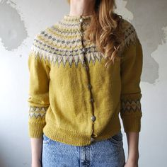 fair isle - beautiful colors, love the shaping