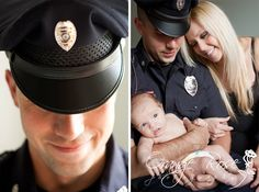 Police Officer Newborn Baby Family