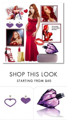 """Sexy as Jessica Rabbit"" by giada2017 on Polyvore featuring ISLO, Disney, Diesel and Bottega Veneta"