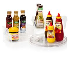 Solutions for your condiments. Available at Howards Storage World
