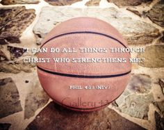 philippians 4 13 basketball - Google Search