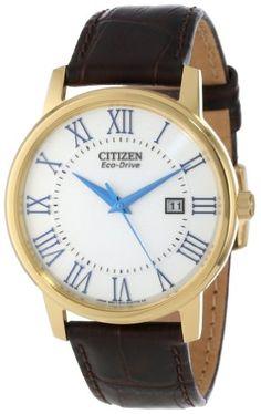 "Citizen Men's BM6752-02A ""Eco-Drive"" Gold-Tone Stainless Steel Watch - http://www.specialdaysgift.com/citizen-mens-bm6752-02a-eco-drive-gold-tone-stainless-steel-watch/"