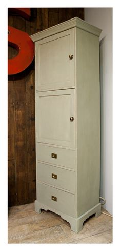 "Painted Cupboard Upcycled for The BBC T.V ""Money for Nothing"""
