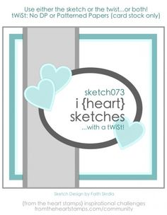 i {heart} sketches | From the Heart Stamps Community