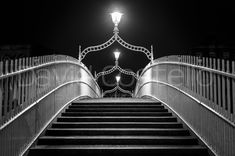 View pictures and order prints by David Costello Famous Bridges, Dublin City, Christmas Night, Dublin Ireland, Night Photography, Order Prints, Magic, In This Moment, Black And White