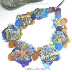 ANASTASIA-handmade-lampwork-beads-7-BEACH-COMBING-SRA