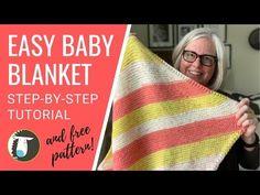 Free Easy Baby Blanket Knitting Patterns For Beginners Best Crochet Ba Blankets For Beginners Craft Mart. Free Easy Baby Blanket Knitting Patterns For. Easy Knitting Projects, Knitting Blogs, Easy Knitting Patterns, Knitting For Beginners, Baby Knitting, Free Knitting, Simple Knitting, Sweater Patterns, Knitting Tutorials