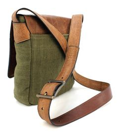 Back to basics....  Canvas/ leather combinations are always popular for a casual look.