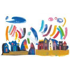 Χρωμοτυπία-Αλέξης Κυριτσόπουλος: «Λάβαρα στην πόλη» - X246 Giclee Print, Disney Characters, Fictional Characters, Banner, Kids Rugs, Gifts, Painting, Decor, Art