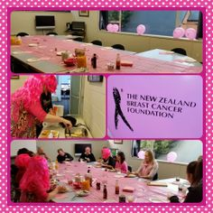 Harness Racing NZ had a great time at their Breakfast! Harness Racing, Breast Cancer, Fundraising, Your Photos, Ribbon, Breakfast, Pink, Tape, Band