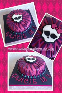monster high birthday party ideas | Monster High birthday cake | Party Ideas