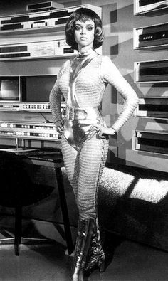 Gabrielle Drake in the television series, 'UFO' , 1970.