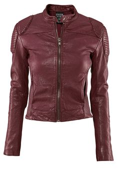 H & M Red Leather Jacket inspired by Lisbeth Salander from Girl With the Dragon Tattoo