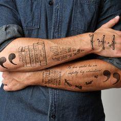 Tattify Skin Art - メンズ   Monoco