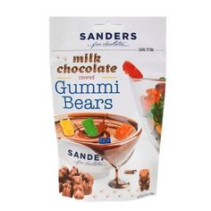 "Ever hear the saying ""don't knock it until you try it?"" Our Milk Chocolate Covered Gummi Bears might sound like an interesting combination, but after just one taste we promise you'll be hooked! Contains no high fructose corn syrup, partially hydrogenated oils or trans fats. $3.99 retail price."