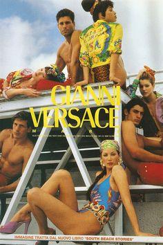 A cara dos 90: Bruce Weber traduz a imagem da Versace pras fotos