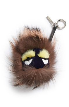 b4956dd2cccc Fendi Genuine Mink Fur   Genuine Fox Fur Bag Charm