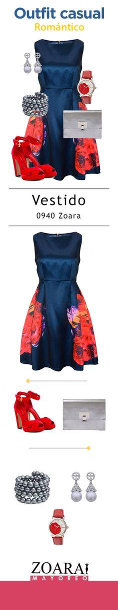 Floral dress and love. Modelo Zoara. #flowers #flowerdress #Zoara