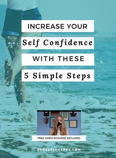 Self confidence is one of the most powerful and attractive qualities a person can have.  It is also an important mental health recovery tool.  Click through to read about 5 steps to increase self confidence. #mentalhealth #selfconfidence #selfesteem #depression #anxiety