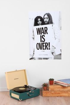 John n' Yoko doing what they do best. #urbanoutfitters