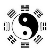 Korean symbol of balance - yin and yang
