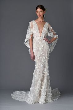 Marchesa has mastered the art of making traditional lace feel sexy.