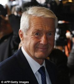 Ousted:Thorbjoern Jagland, a former Norwegian prime minister of the Labour Party, has been demoted as chairman of the Nobel Peace Prize committee