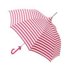 Cheeky summer umbrella by Lisbeth Dahl Copenhagen. #LisbethDahlCph #umbrella #pink #cream #stripes #SS14