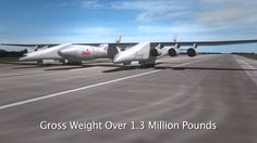 Stratolaunch systems New design carrier space transportation technology. Transportation Technology, Aviation World, Cargo Aircraft, Walk The Earth, Military Jets, World Images, Change The World, Worlds Largest, Dreams