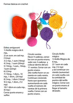 LaNaynay: Tutorial Formas básicas de crochet