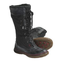 Pajar Galit Boots - Waterproof, Insulated (For Women) in Black- mixed reviews on these (not so good for someone with a high arch and wider foot). $85