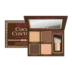 Too Faced Cocoa Contour Palette with Buki Brush, of just $20 shipped !!! reg $40!!! Calicoupochick.Net