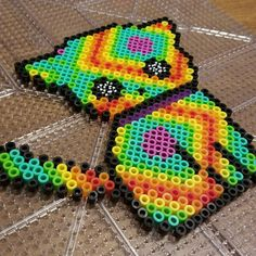 Drum decoration, but different colors? Perler Bead Templates, Pearler Bead Patterns, Kandi Patterns, Diy Perler Beads, Perler Bead Art, Perler Patterns, Pearler Beads, Fuse Beads, Beading Patterns