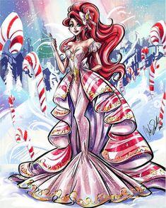 Disney Princess Fashion, Disney Princess Art, Disney Fan Art, Disney Fun, Fashion Illustration Collage, All Disney Princesses, Arte Do Kawaii, Instagram Artist, Disney Drawings