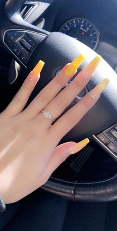 32 Lovely Jelly Nails Ideas That You Should Try! 32 Lovely Jelly Nails Ideas That You Should Try! Summer Acrylic Nails, Best Acrylic Nails, Acrylic Nail Designs, Coffin Acrylic Nails Long, Acrylic Nails Yellow, Nail Summer, Acrylic Art, Aycrlic Nails, Pink Nails