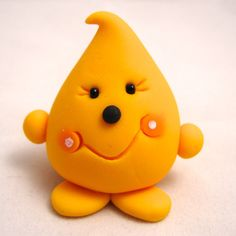 The Original PARKER  Polymer Clay Figurine  by KatersAcres on Etsy, $12.50