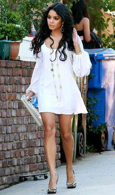 Vanessa Hudgens bohemian style fashion boho chic