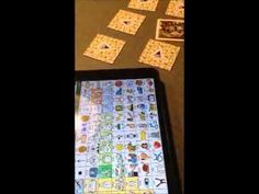 In this video we demonstrate how to use aided language stimulation with a high-tech AAC system when playing a game.