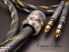 *EX MOSTRA* CARUSO CABLES® Cavo alim: Platinum.A RTH/Air-16