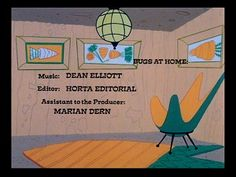 #Butterfly chair from Bugs At Home cartoon.