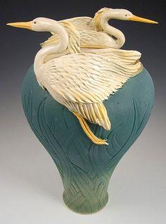 Bonnie Belt Ceramic Wave Vase | Price: $ 1200.00 1 2 3 4 5