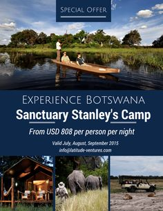 Experience the Amazing in with this brilliant Okavango Delta, Africa Travel, Southern, Places To Visit, Camping, Night, Campsite, Campers, Tent Camping