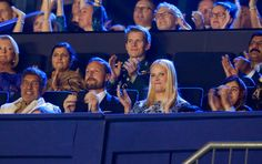 Queens & Princesses - Prince Haakon, the Princess Mette-Marit and their children attended the concert in honor of the Nobel Peace Prize in Oslo.