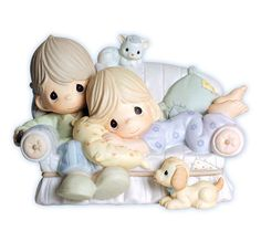 """Precious Moments Figurine """"Together is the Nicest Place to Be"""" True Love Figurine $75.00"""