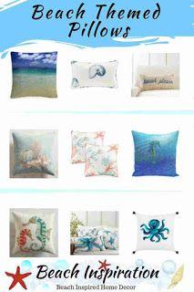 50 Decorative Coastal Throw Pillows For Living Rooms Beach