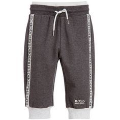 BOSS Baby Boys Grey Tracksuit Trousers