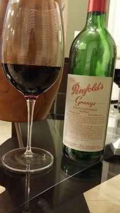 Penfolds Grange 98 - an amazing bottle of happiness
